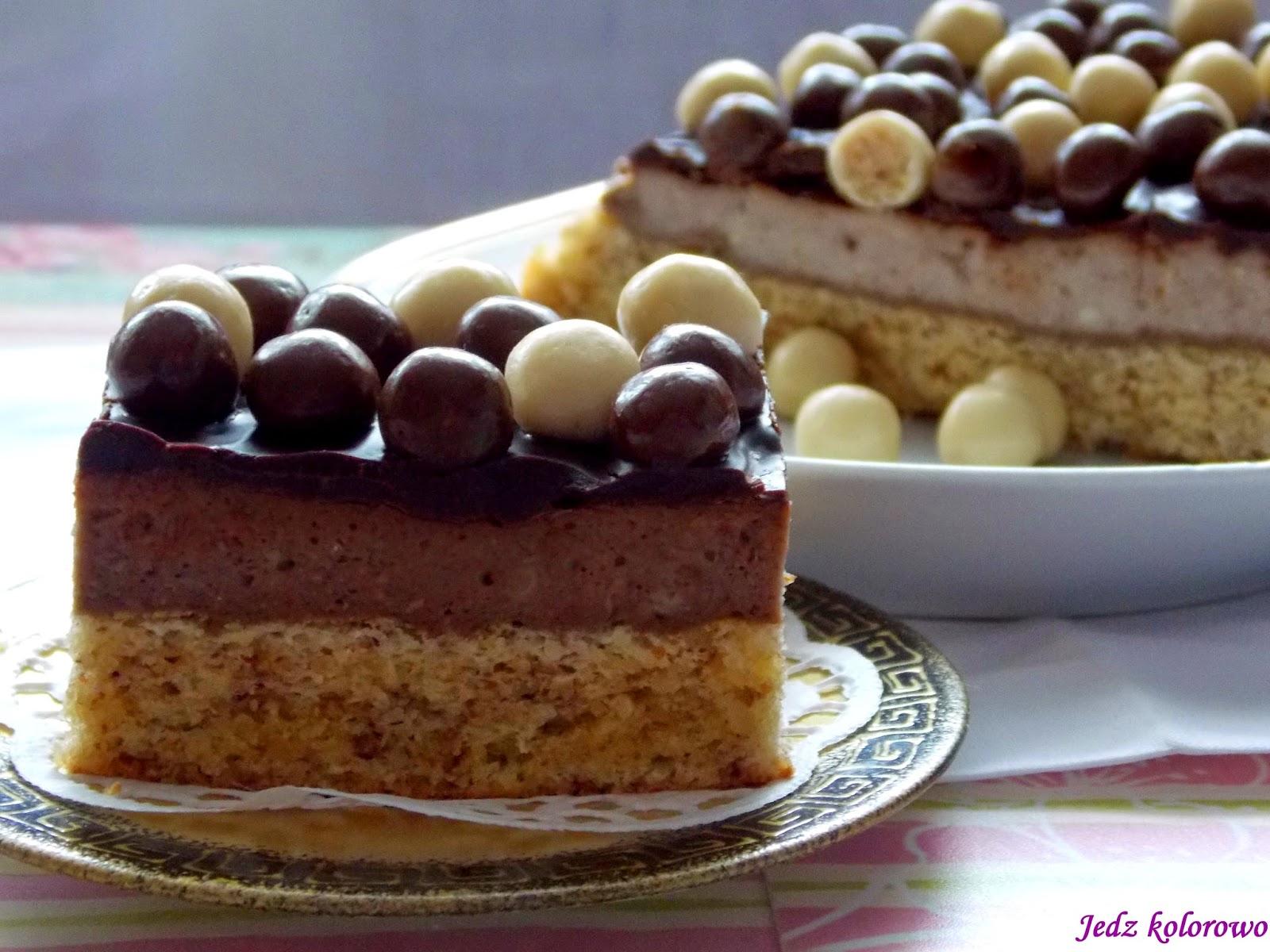 tort z kulkami