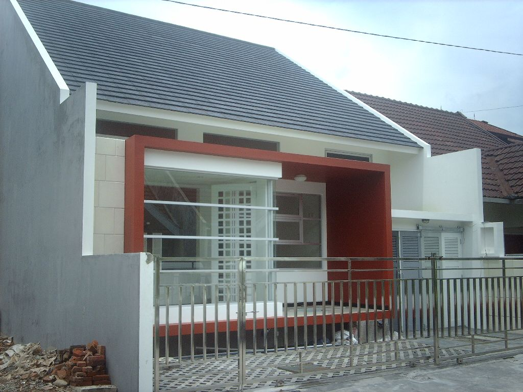 This modern house is ideal for those of you who love the product that is simple but ordinary