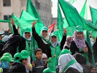 Pendukung Hamas (foto knrp.or.id)