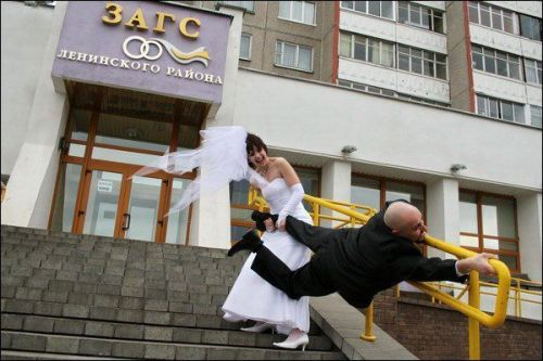 Crazy Hilarious Wedding Pictures!