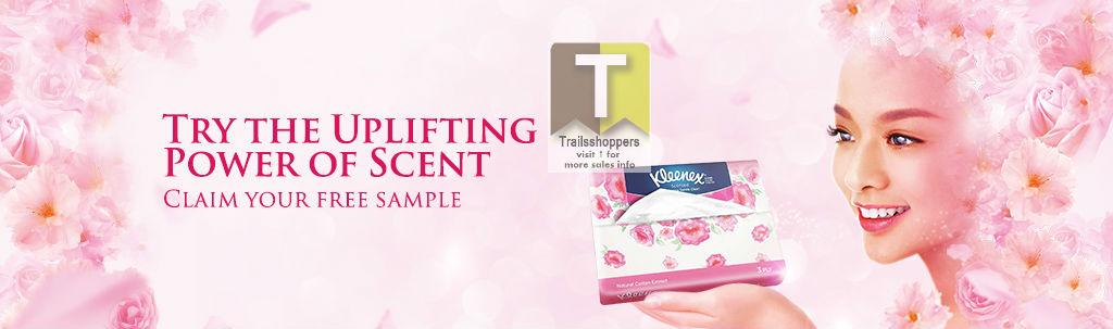 claim Kleenex Scented FREE Sample 2015