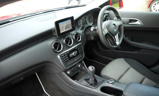 Mercedes A-Class A180 interior