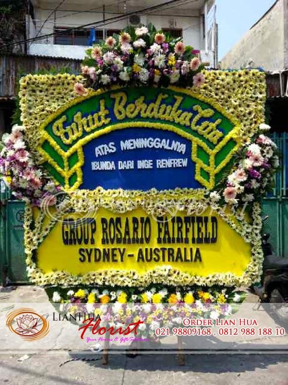 bunga duka cita, karangan bunga duka cita, toko bunga di jakarta, bunga untuk orang meninggal, toko bunga dekat rumah duka