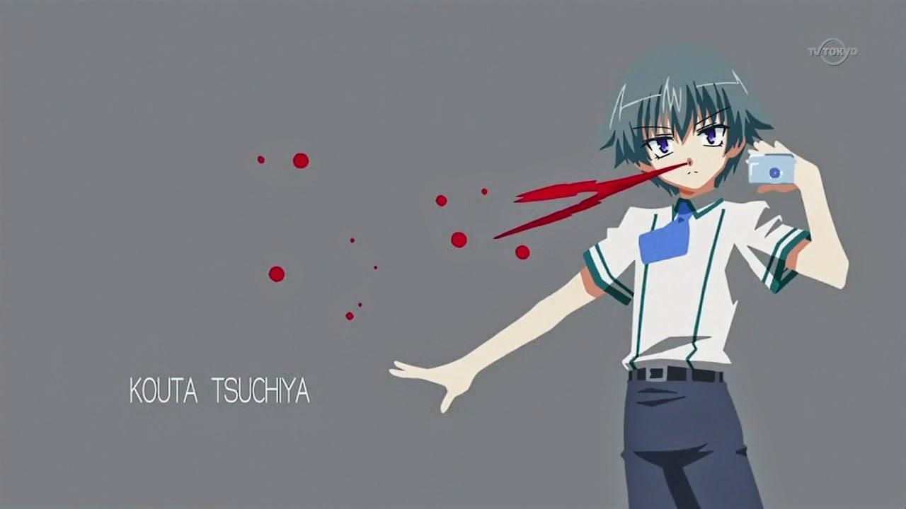 Baka to Test to Shoukanjuu Kouta Tsuchiya