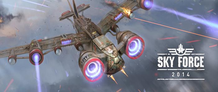 Sky Force 2014  v1.02 APK Mod