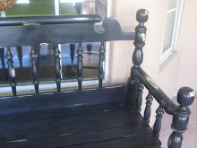 Chunky Black Bench- SOLD