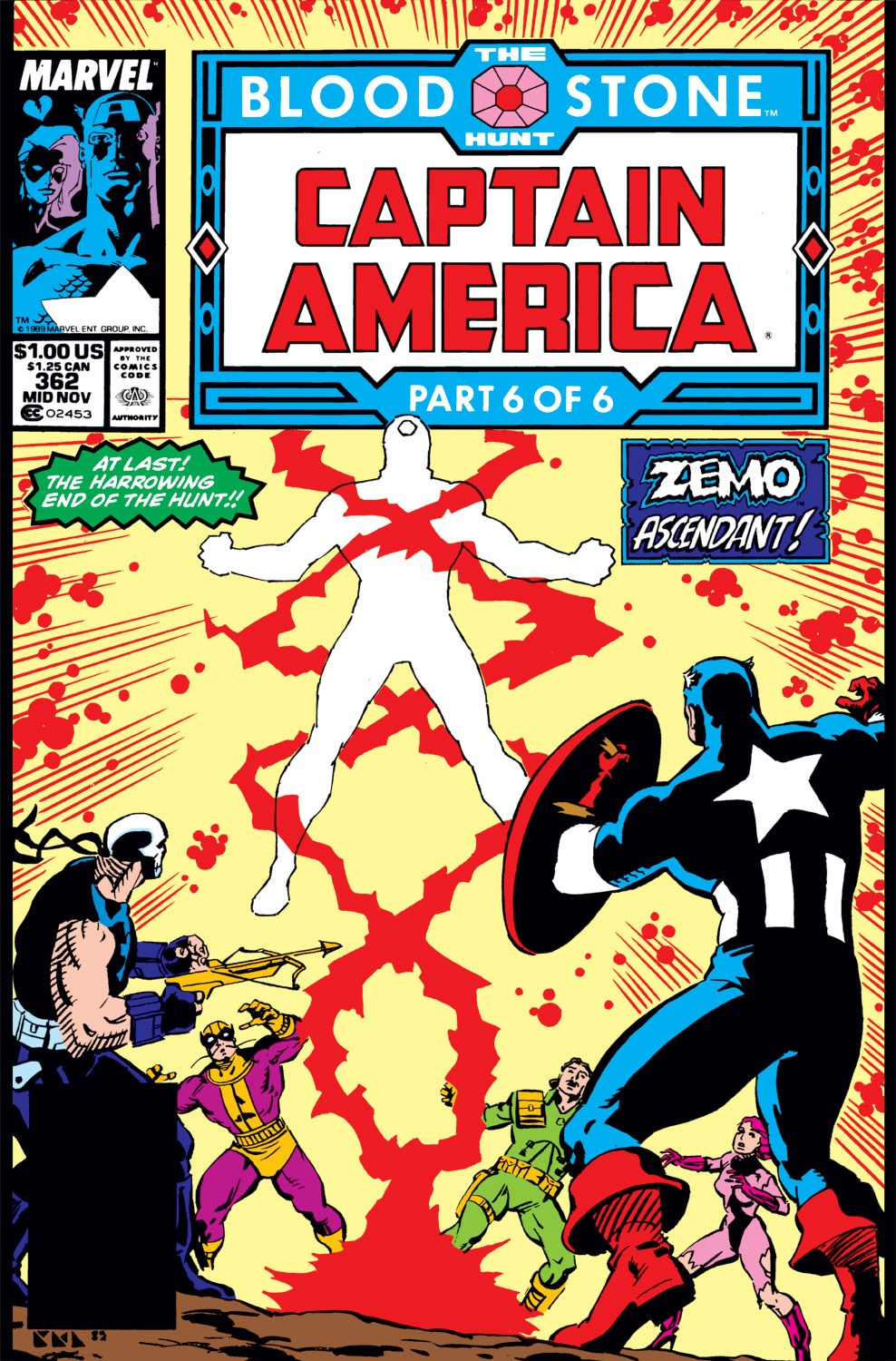 Captain America (1968) Issue #362 #295 - English 1