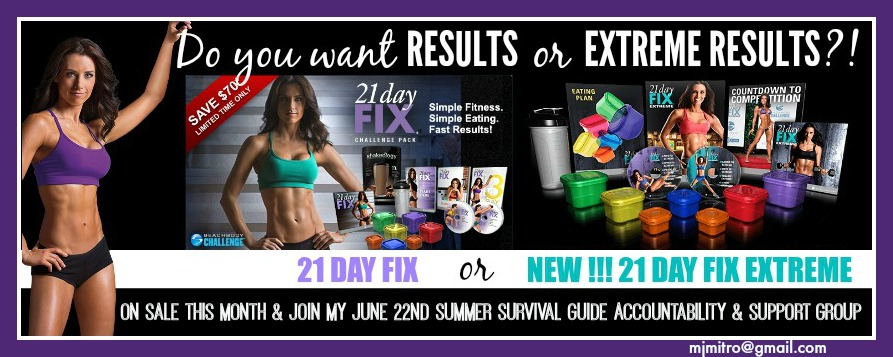 21 Day Fix Extreme Launch