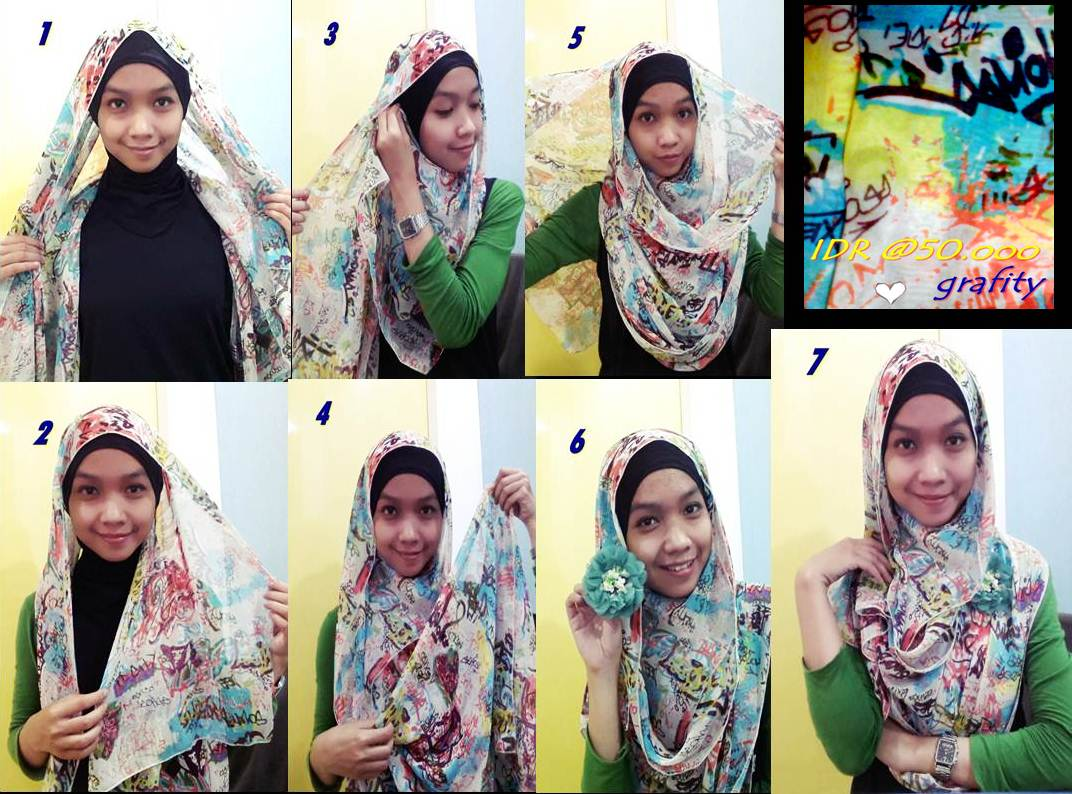 Alynaas Hijabbeauty TUTORIAL HIJAB PASMINA CHIFFON SIMPLE