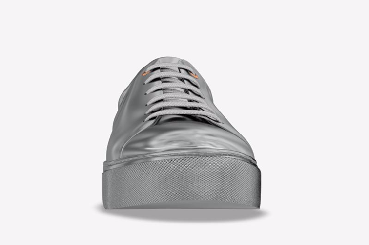 Fashion Over Reason x MySwear Vyner metallic sneakers cutsomized from Farfetch