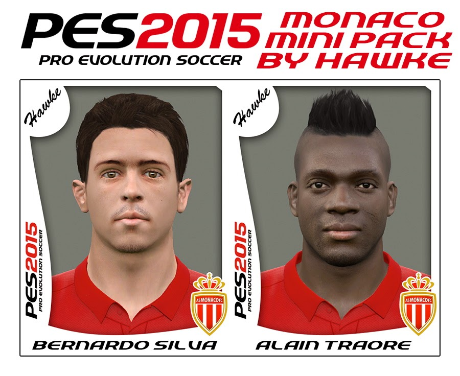 PES 2015 Monaco Mini FacePack by Hawke