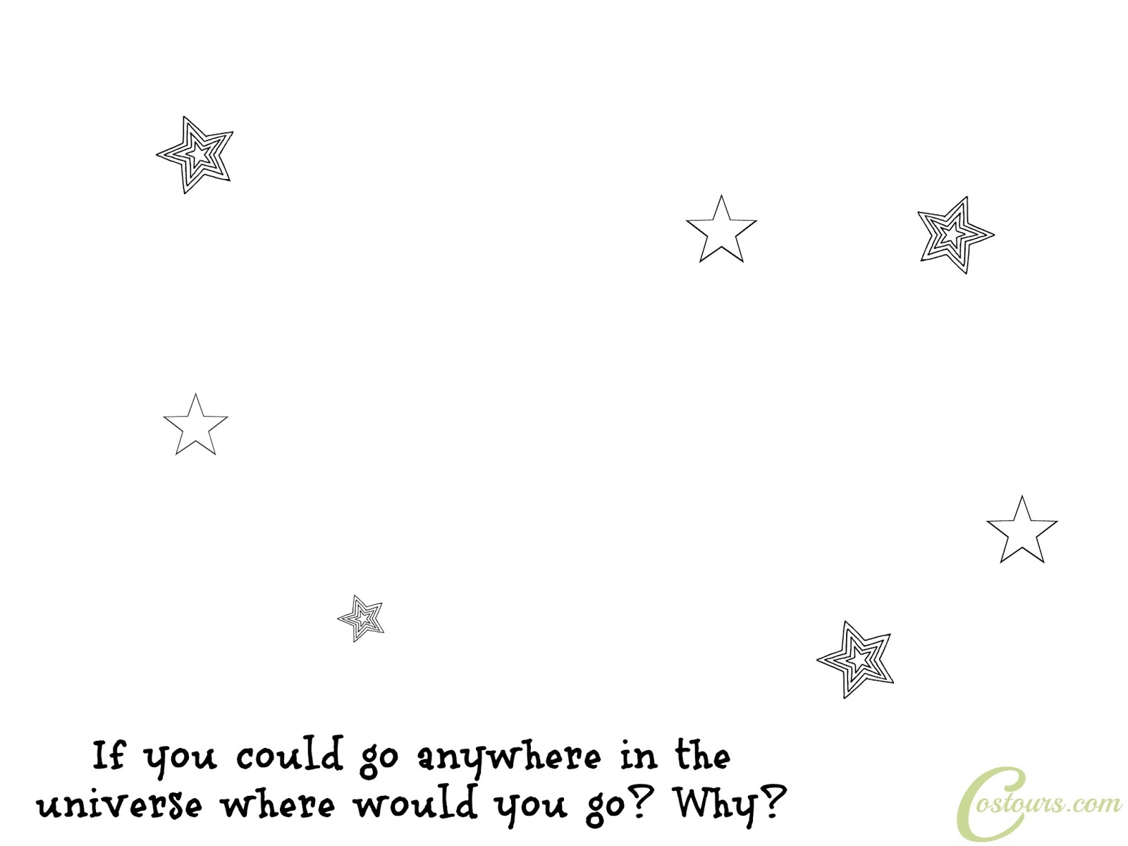 Finish Outer Space Free Printable