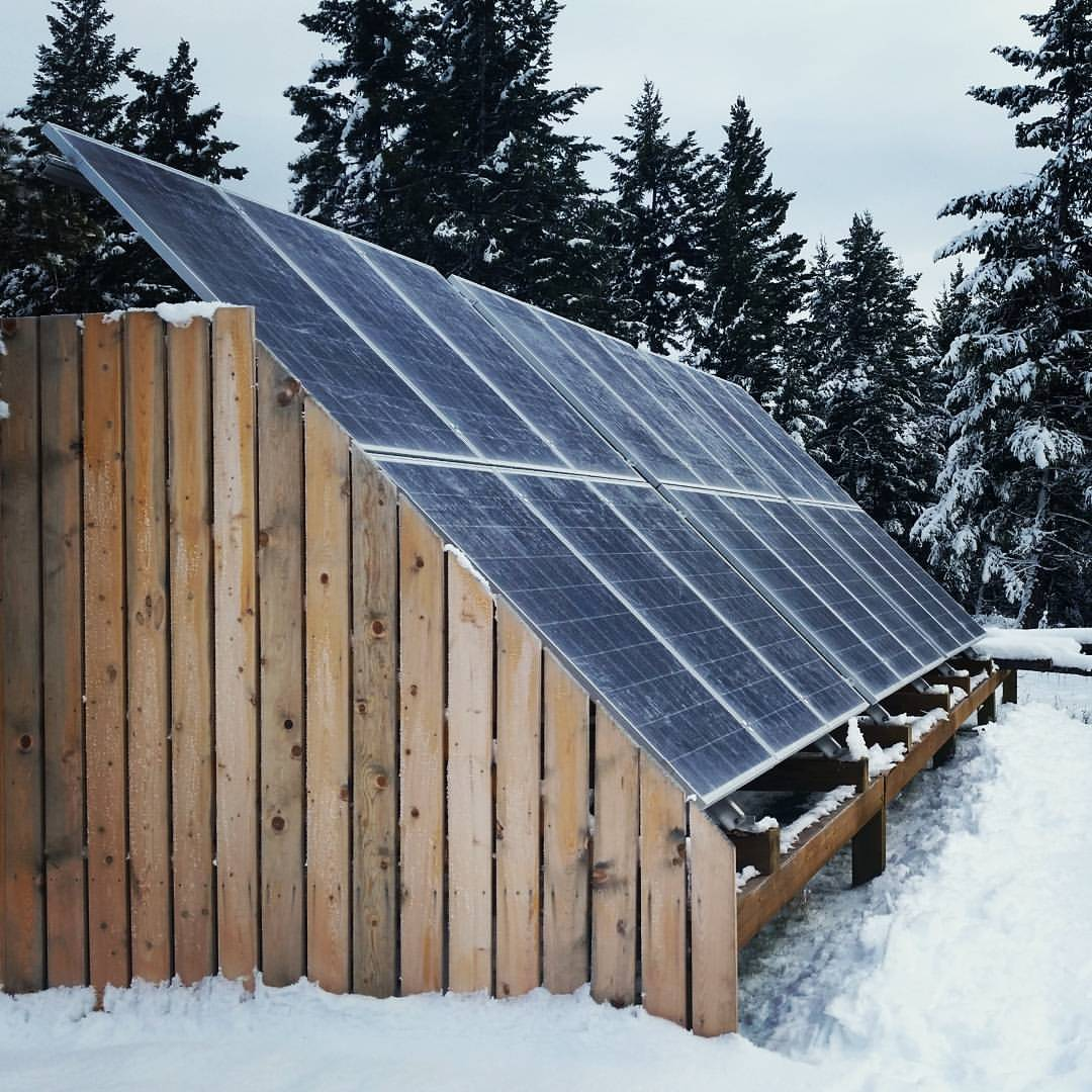 We've upgraded the OFF-GRID cabin! Stay tuned!