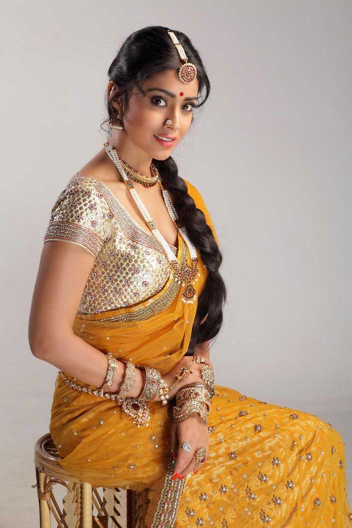 Shriya Saran In Saree ~ Actress Clicks