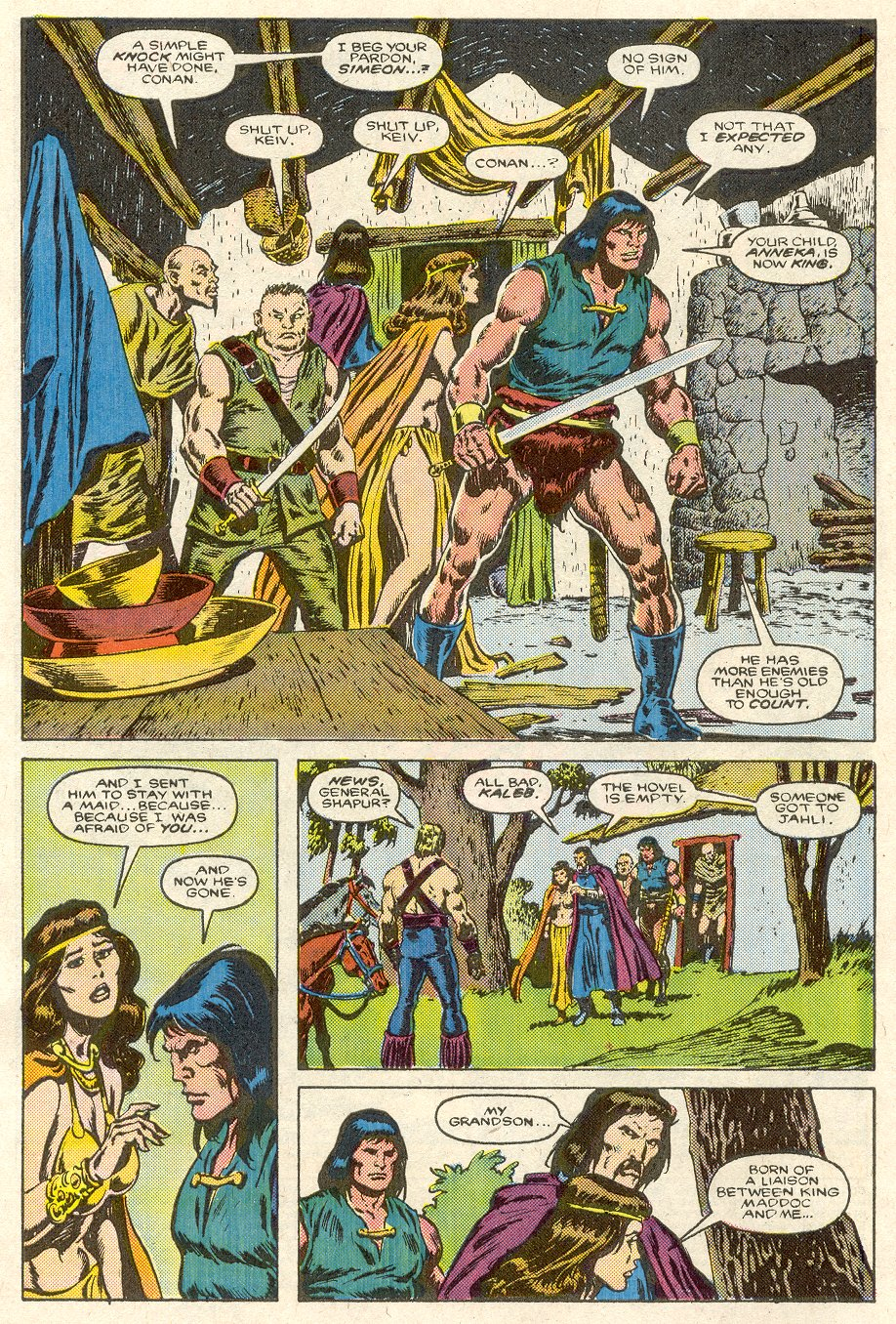 Conan the Barbarian (1970) Issue #188 #200 - English 3