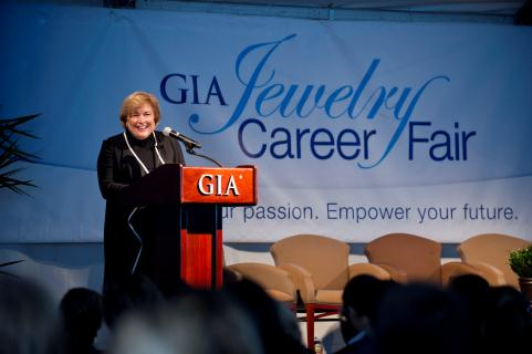 Top Names In Gems Jewelry Speak At Gia New York Career Fair The