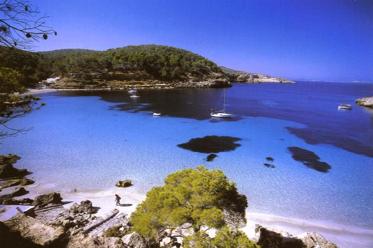 La belleza natural de la isla de Formentera en las Islas Baleares