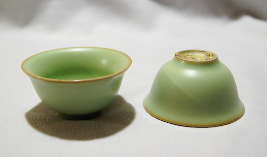 сине зеленый чай