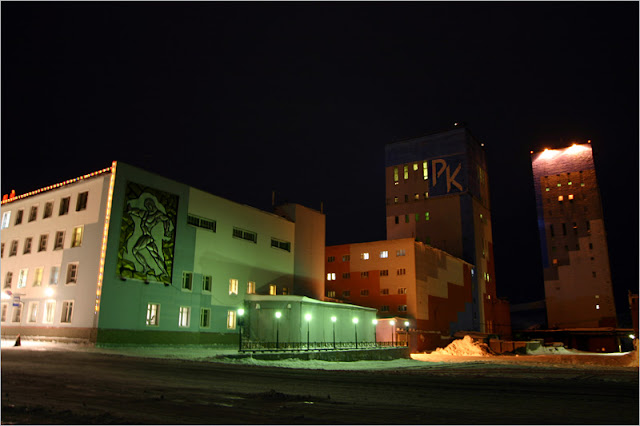 Норильск, фото, Талнах, рудник «Комсомольский»