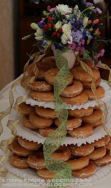krispy kreme wedding cake diy