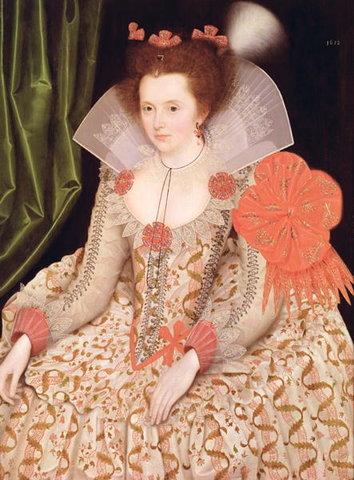 Peach Elizabethan Noble