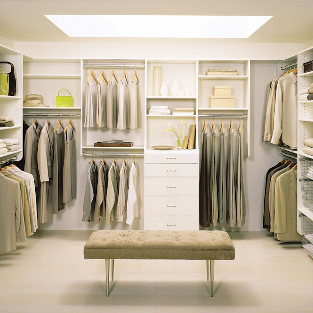 Walk In Bedroom Closet Designs