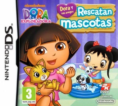 Dora y sus Amigos rescatan mascotas (Español) (Nintendo DS)