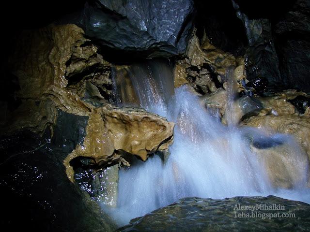 пещера перекат