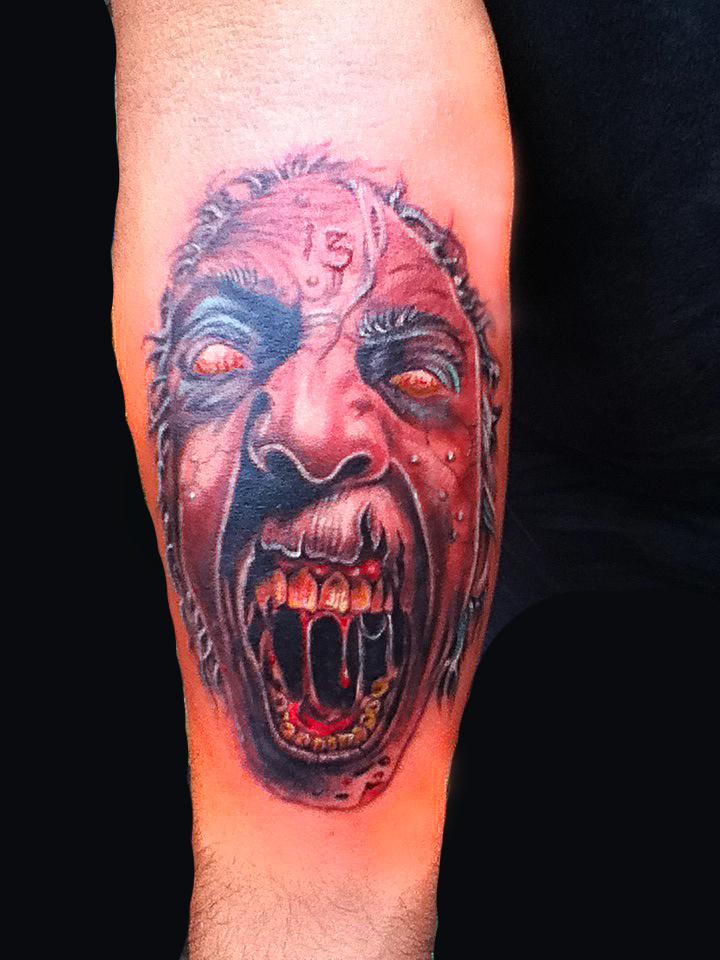 Lizard 39 s skin tattoos zombie tattoo by niloy for Zombie tattoo machine