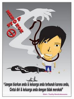 aktif, mak a untuk me ngurangi resiko tersebut aktiflah merokok