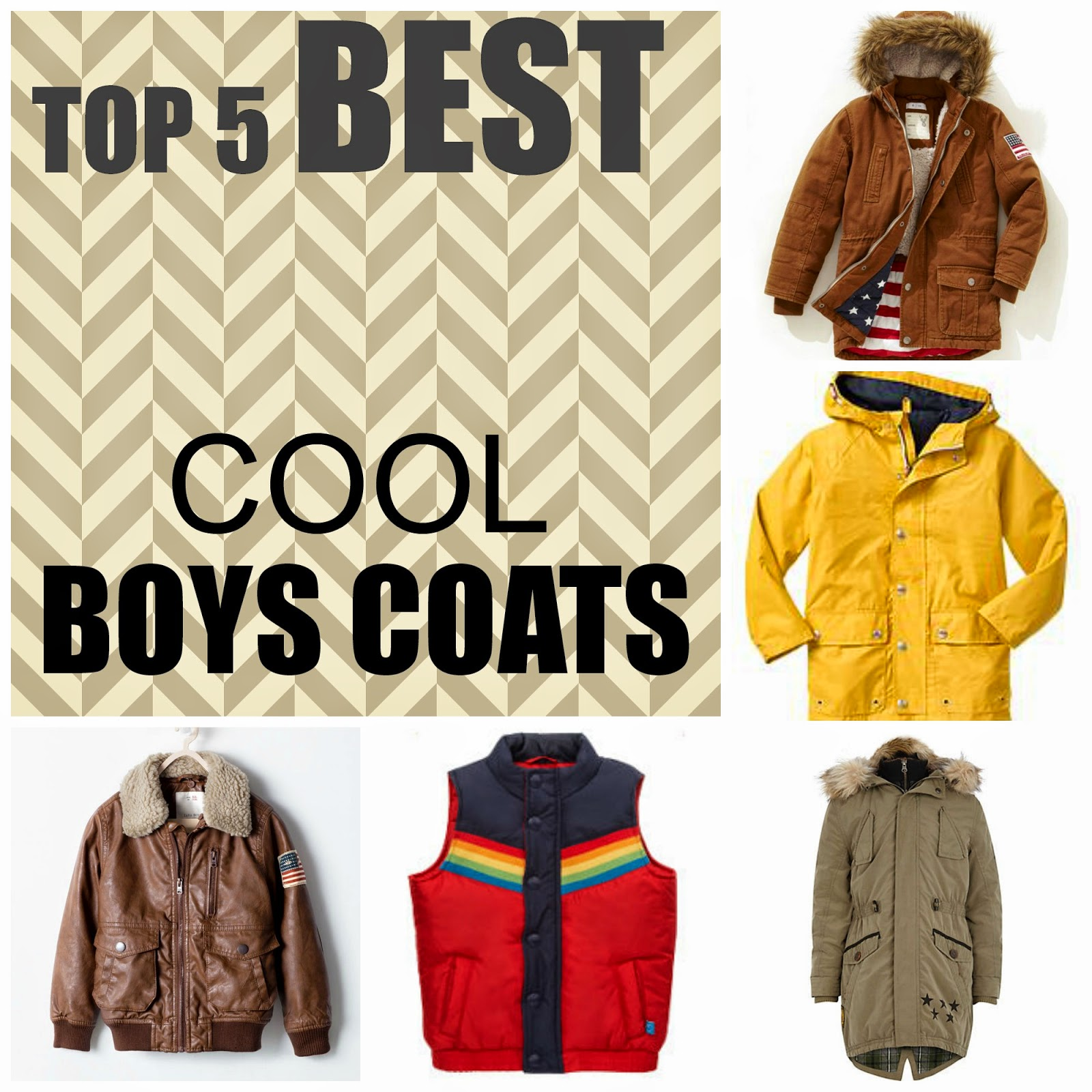 Best boys coats
