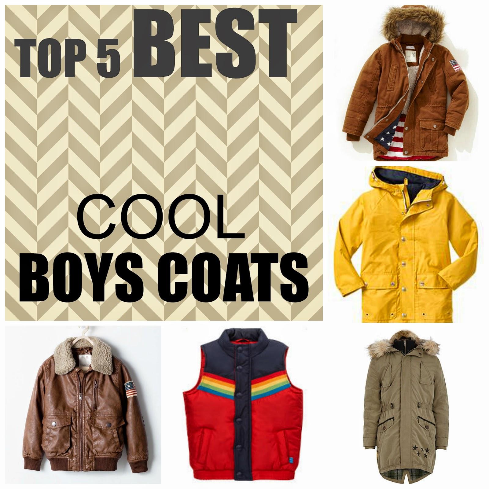 Best boys coats