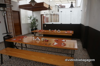 Terraço do café da manhã, Hotel Casa Cielo, Miraflores, Lima, Peru