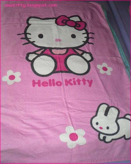 Hello Kitty Bath Towel Car Interior Design