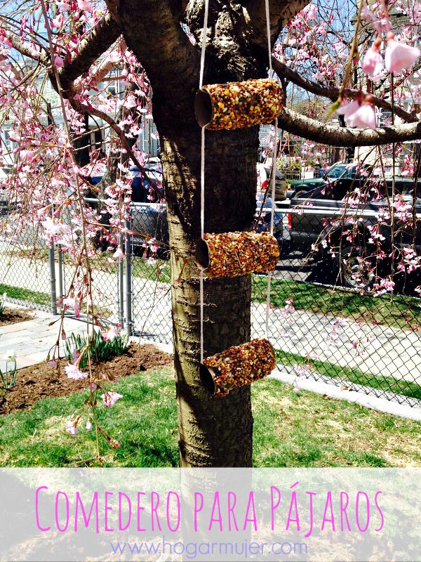 DIY- Dia de la Tierra- Earth day- reciclaje- rollos de papel higiénico