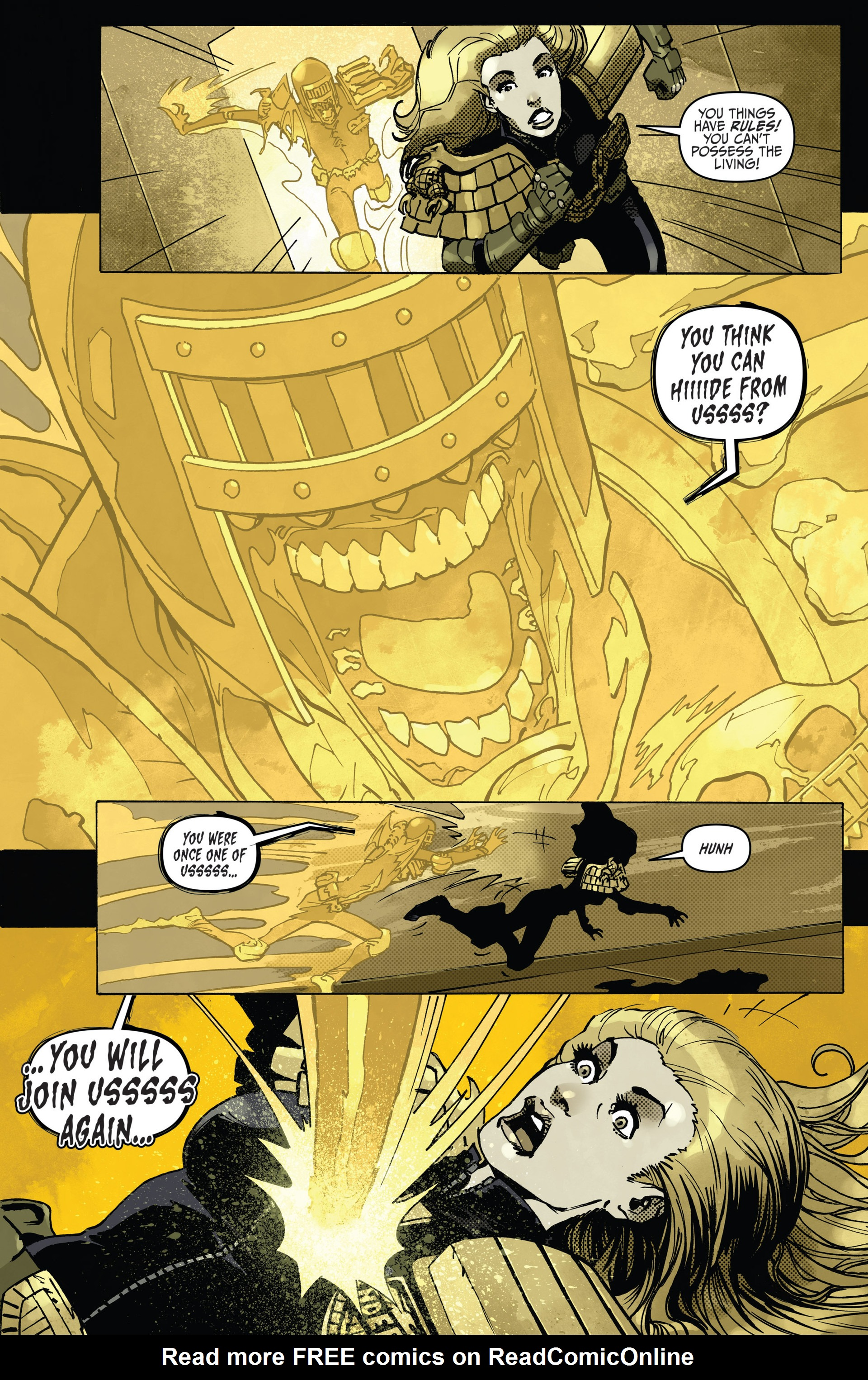 Read online Judge Dredd (2012) comic -  Issue #22 - 11