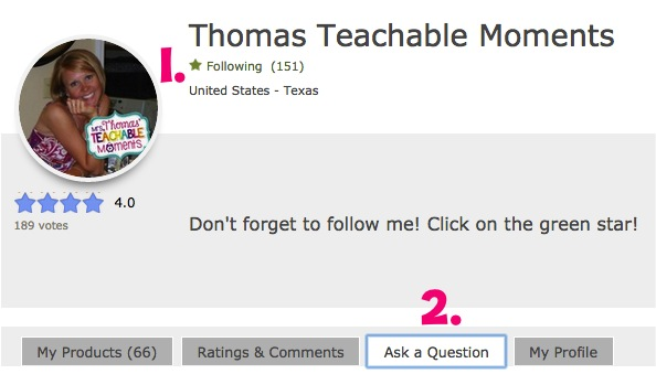Mrs. Thomas' Teachable Moments
