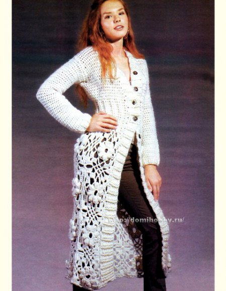 Crochet Patterns to Try: Free Crochet Chart for Fall Coat - Puff ...