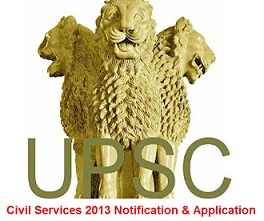UPSC Civil Services Prelims Online Application,Notification 2013