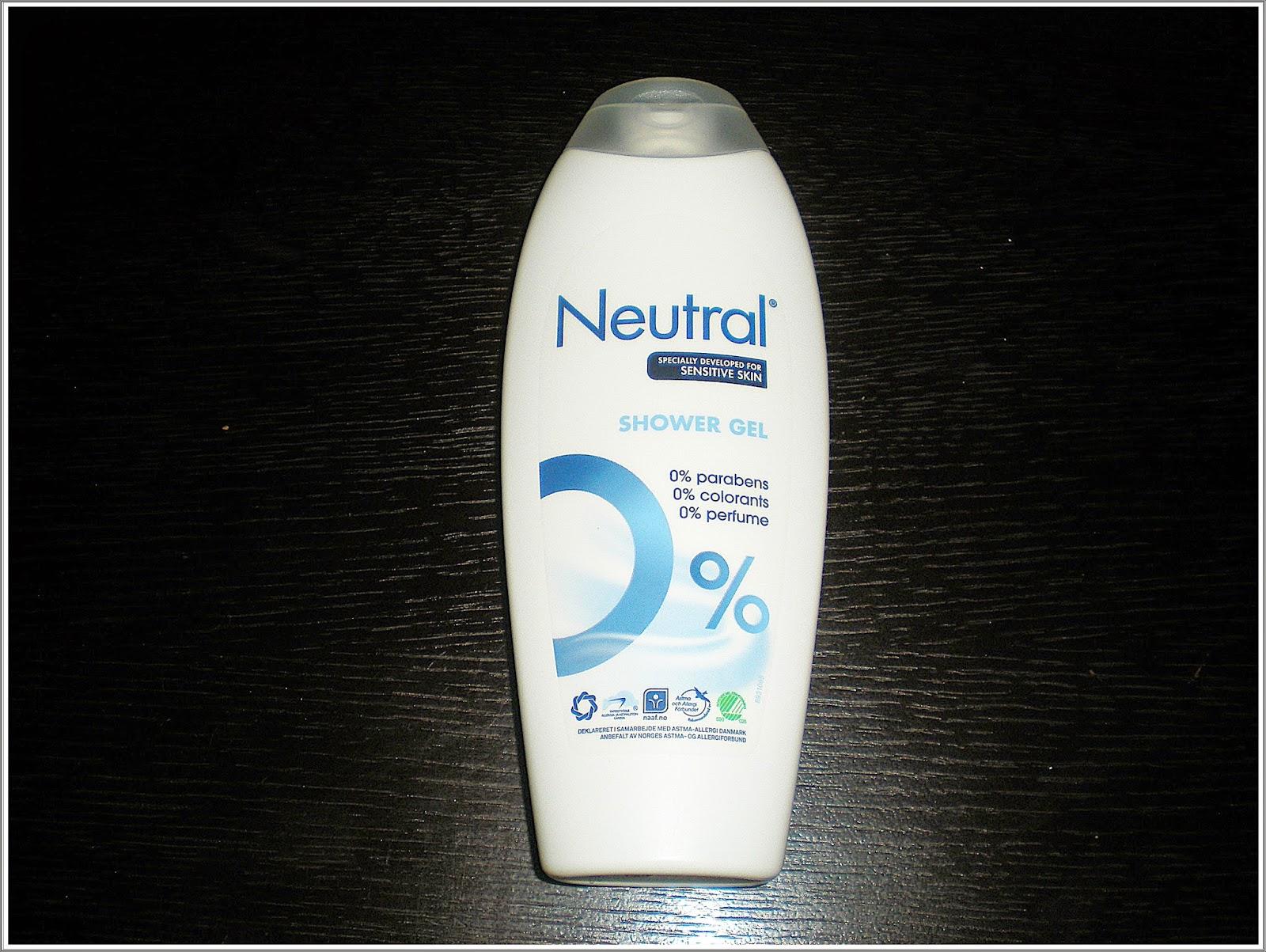 Neutral - kilka słów o mydełku, proszku, płynie, żelu i szamponie...