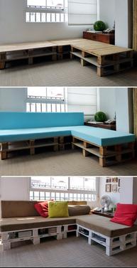 muebles de partes de madera desechable