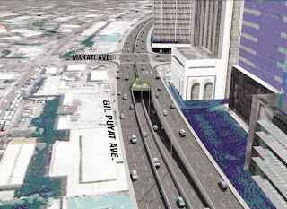 An artist's perspective of the planned underpass. Photo from DPWH.