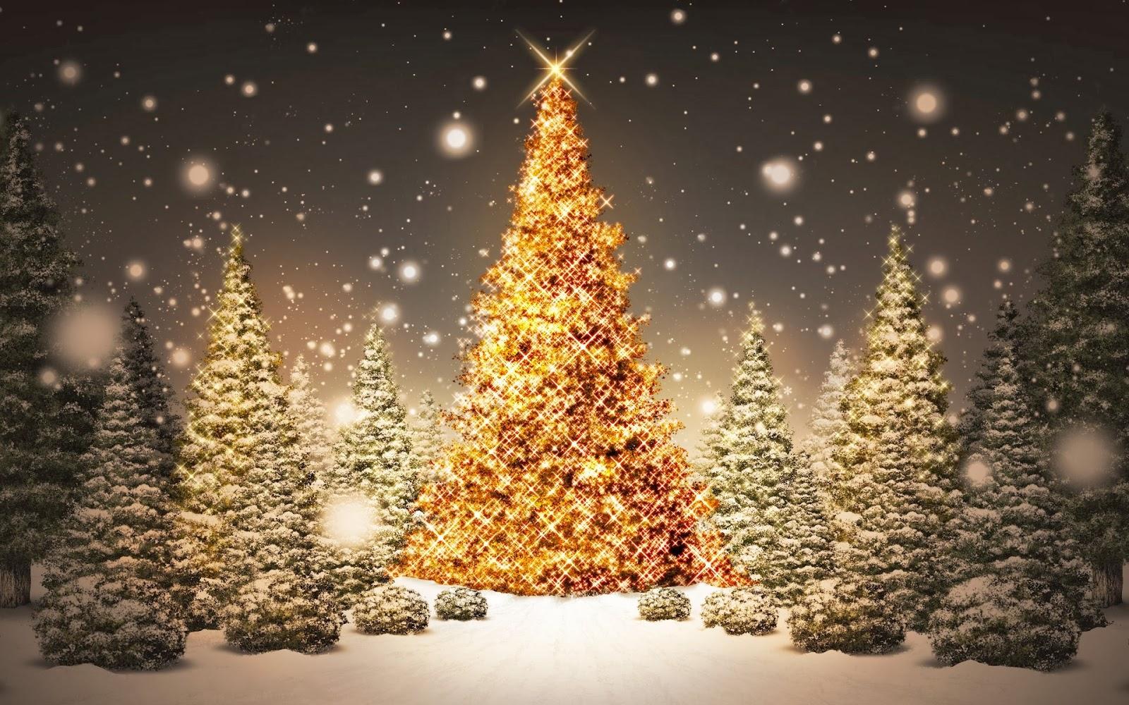 3d Christmas Tree For Desktop HD Wallpaper Free