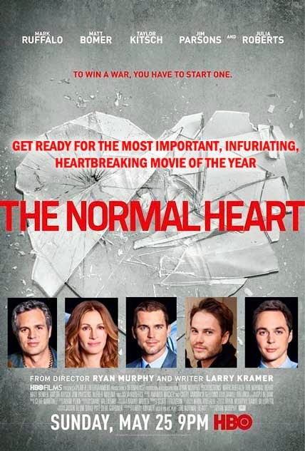 The Normal Heart 2014 [DvDRipAudioLatino][Drama]