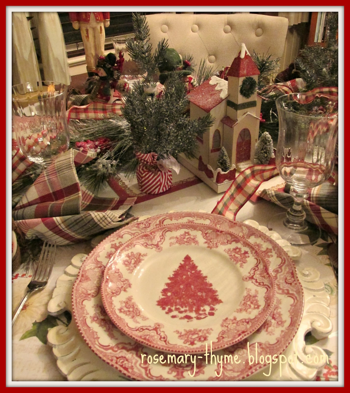 Fun And Festive Christmas Tablescape