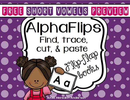 http://www.teacherspayteachers.com/Product/Interactive-Alphabet-Mini-Books-AlphaFlips-Short-Vowels-FREEBIE-1195022