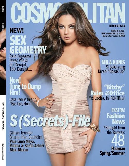 Mila Kunis Cosmopolitan Mexico Photoshoot