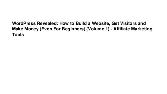 Let's Make Money - How To Build A Website To Make Money