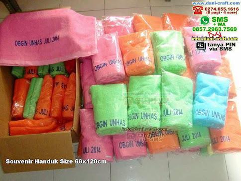 Souvenir Handuk Size xcm Handuk Makassar