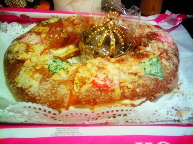 Roscón de Reyes Horno La Santiaguesa